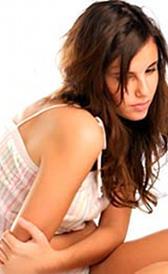Imagen de la síndrome premenstrual